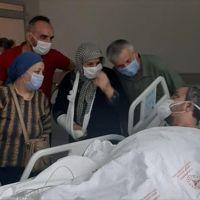 Karabük'te 20 gün yoğun bakımda kalan koronavirüs hastası sağlığına kavuştu