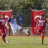 Ampute Futbol Türkiye Kupası müsabakaları devam ediyor