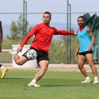 Göztepe, Gaziantep FK maçının hazırlıklarına devam etti