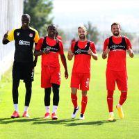 Sivasspor'da MKE Ankaragücü maçı hazırlıkları devam ediyor