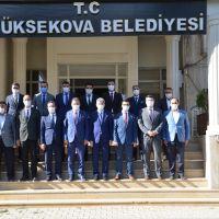 İçişleri Bakan Yardımcısı Muhterem İnce Yüksekova'da incelemelerde bulundu:
