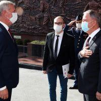 Milli Savunma Bakanı Akar, Kosovalı mevkidaşı Quni ile görüştü
