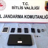 Bitlis'te terör örgütü propagandası yapan şüpheli yakalandı