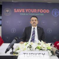 Bakan Pakdemirli, Uluslararası Gıda Kaybı ve İsrafı Farkındalık Günü etkinliğinde konuştu: