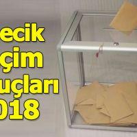 Bilecik seçim sonuçları 2018 - 24 Haziran oy oranları