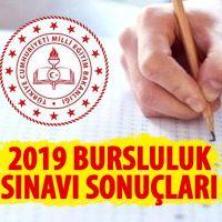 Bursluluk sınavı sonuçları 2019 odsgm.meb.gov.tr   Milli Eğitim bursluluk sınav sonuçları 2019 e okul