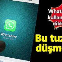 iOS ve Android'de sahte WhatsApp alarmı