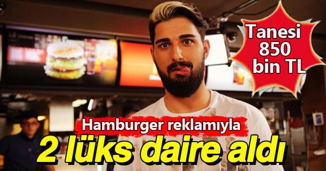 İdo Tatlıses hamburger parasıyla 2 daire aldı