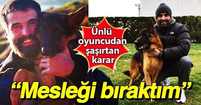 Mehmet Akif Alakurt oyunculuk kariyerine nokta koydu