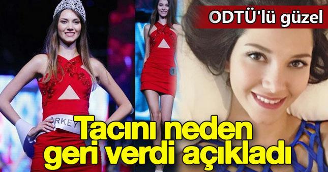 Çağla Çukurova Miss Turkey'den neden çekildi?
