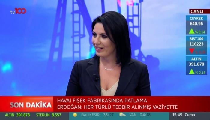 Tv100 spikeri Nazlı Bolak'ın Olay TV ile anlaşması