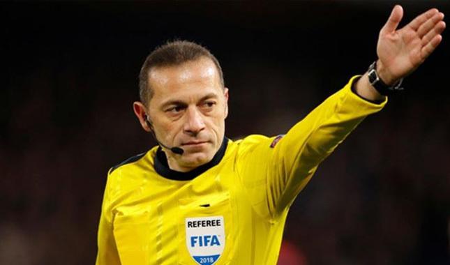 UEFA'dan Cüneyt Çakır'a özel görev