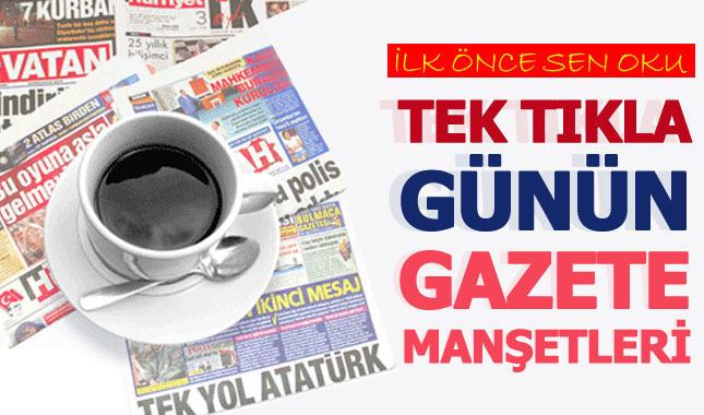 1 Nisan 2019 Gazete Manşetleri