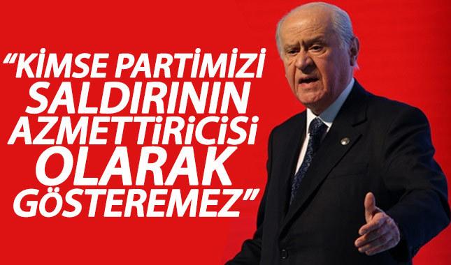 Devlet Bahçeli: Kılıçdaroğlu'na yönelik saldırı kabul edilemez