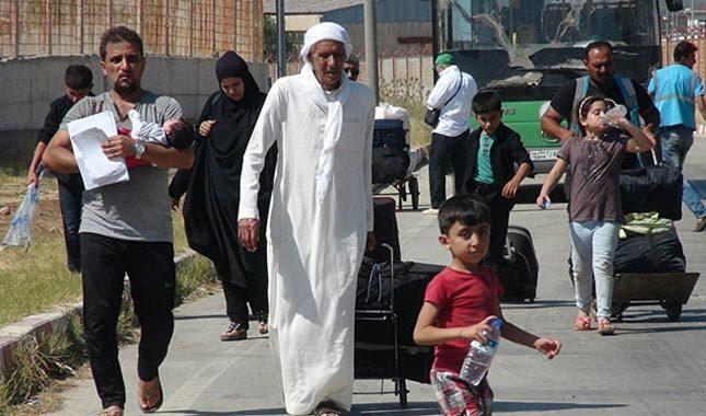 200 bin Suriyeli sığınmacı ülkesine döndü