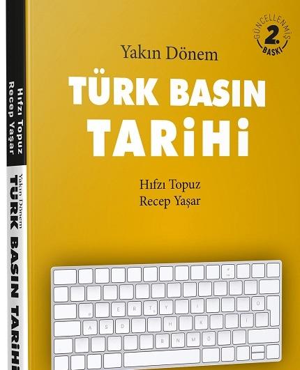 2020 yılı inceleme araştırma ödülü yakın dönem Türk Basın tarihi kitabının oldu