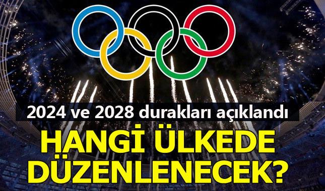 2024 ve 2028 olimpiyatlarının ev sahipleri açıklandı