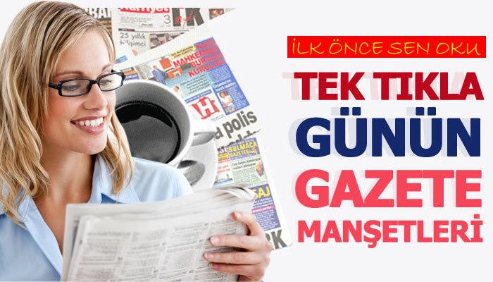 21 Eylül 2019 Gazete manşetleri