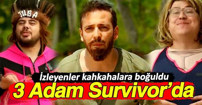 3 Adam'ın Survivor performansı kırdı geçirdi