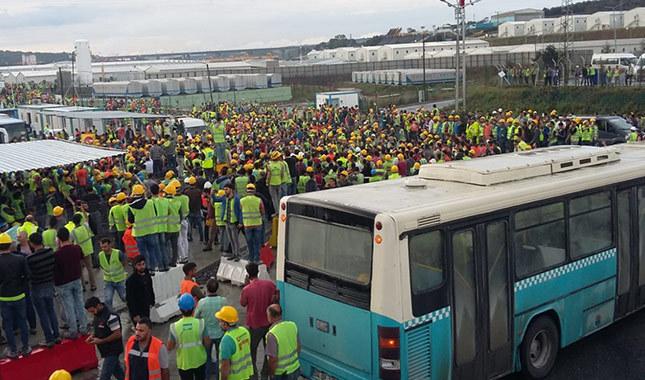 3. Havalimanı işçileri kötü çalışma şartları nedeniyle eylem başlattı