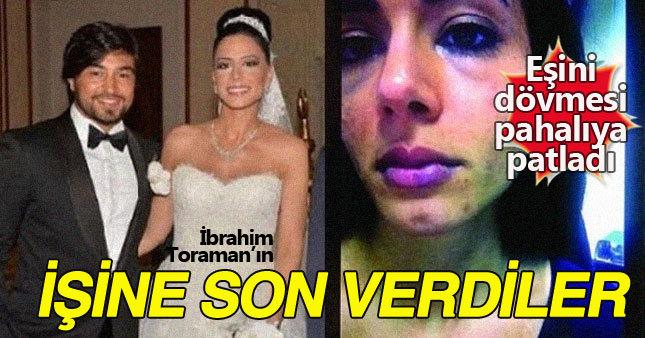 360 TV, eşini döven İbrahim Toraman'ın işine son verdi