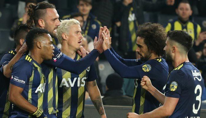 7 gollü maçta kazanan Fenerbahçe oldu