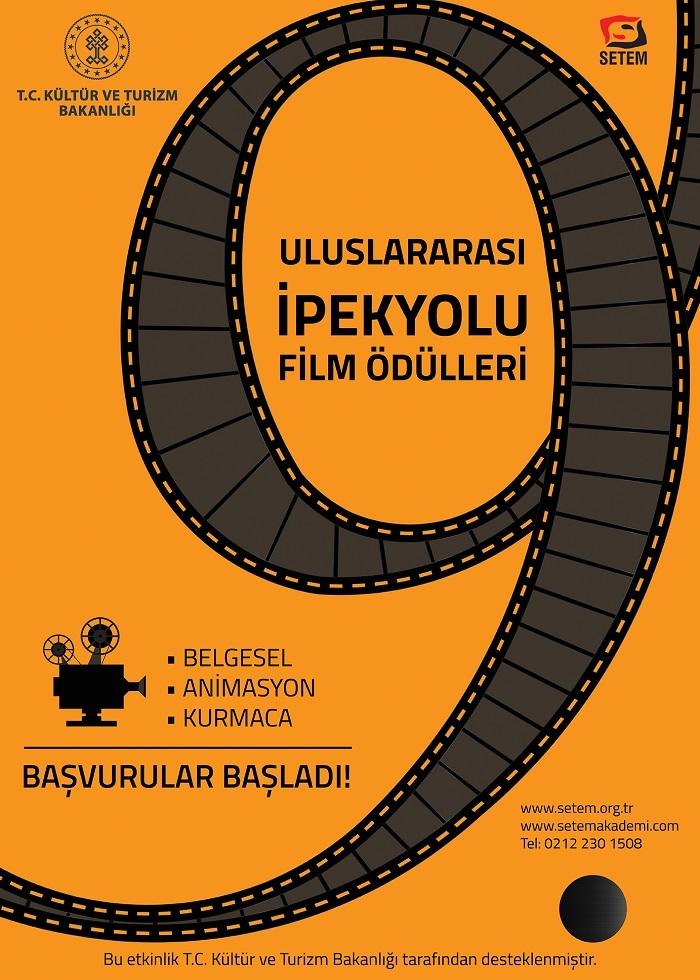 9. Uluslararası İpekyolu Film Ödüllerine başvurular başladı