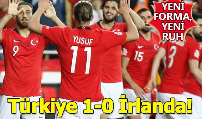 A Milli Futbol takımımız, İrlanda Cumhuriyetini 1-0 mağlup etti! (Maç sonucu - Özet)