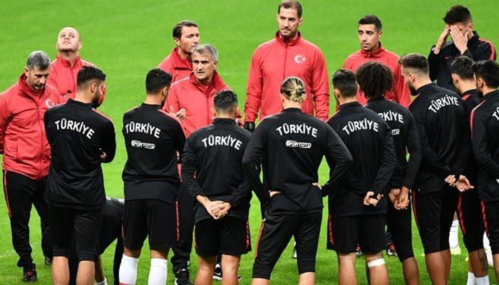 A Milli Takım, Fransa maçına hazır
