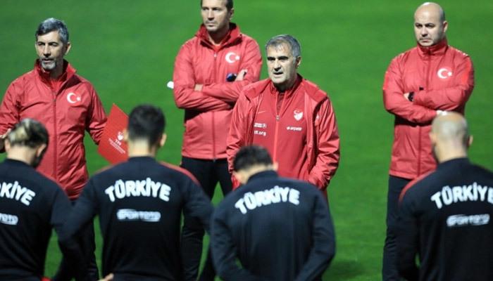 A Milli Takım, İzlanda maçı mesaisinde
