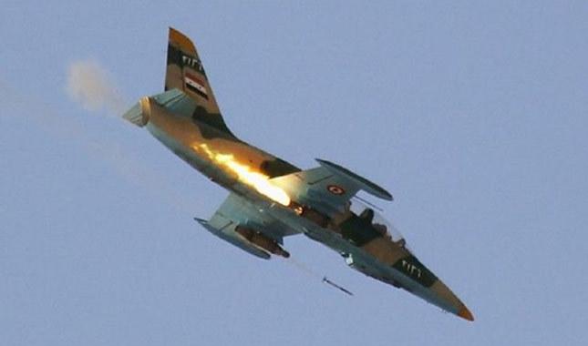 ABD Suriye'nin savaş uçağını düşürdü