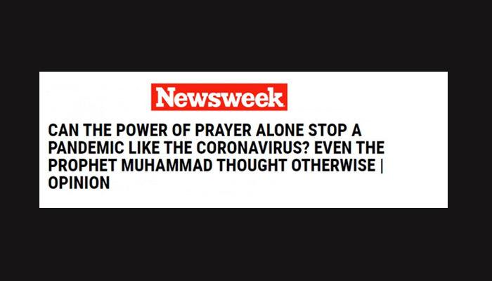 ABD basınında Hz. Muhammed (S.A.V.) haberi