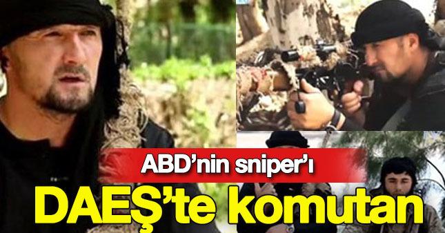 ABD'nin eğitiminden geçen o isim IŞİD'e komutan oldu