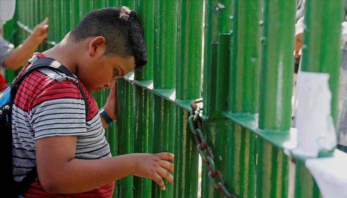 ABD'ye giden göçmenler Meksika sınırına ulaştı