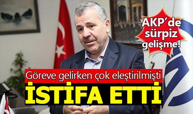 AK Parti'de flaş gelişme! Şaban Dişli istifa etti
