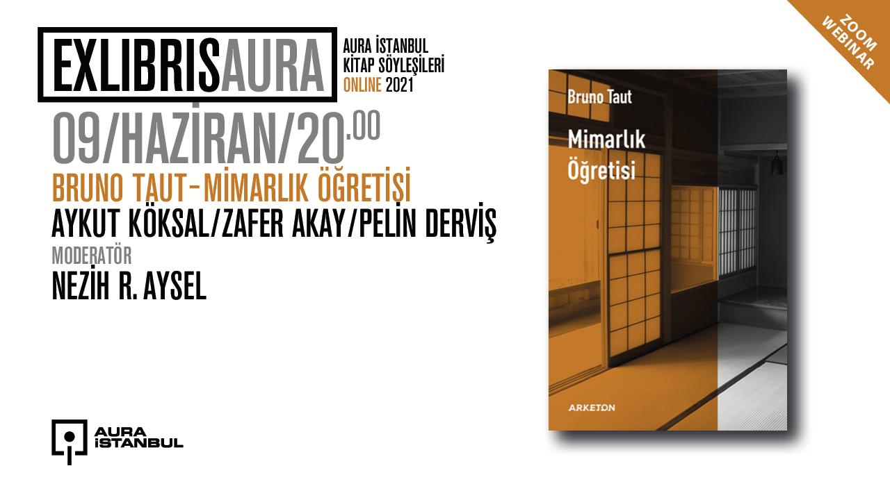 """AURA İstanbul kitap söyleşileri """"Exlibris AURA"""" başlıyor"""