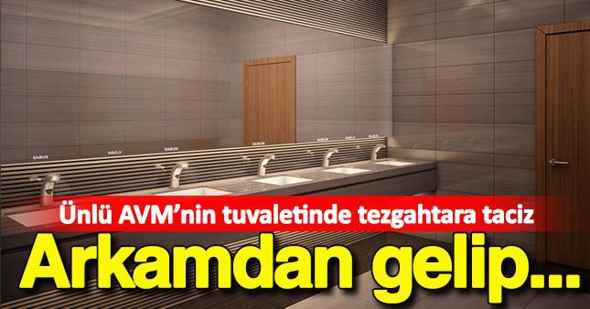 AVM'nin tuvaletinde tezgahtara taciz iddiası