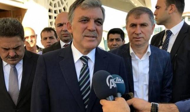 Abdullah Gül yeni partisi sorusuna ne yanıt verdi?