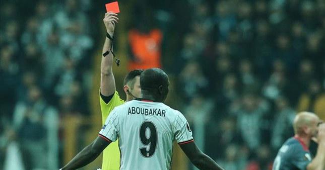 Aboubakar'a verilen ceza belli oldu