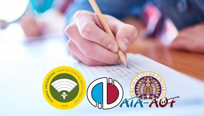 Açıköğretime kaç puanla girilir 2019 | açıköğretime girmek için kaç puan lazım | açık öğretim üniversite bölümleri