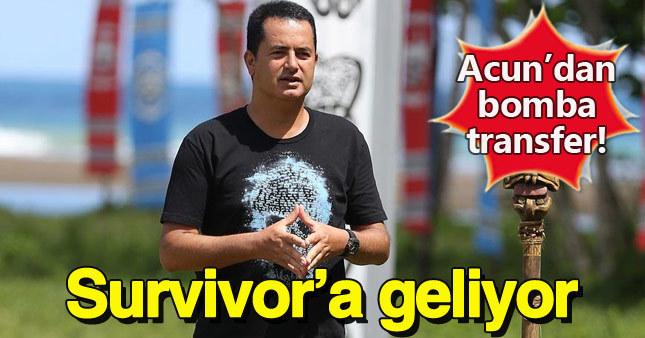 Acun Türkiye'nin en ünlülerinden birini Survivor'a getiriyor