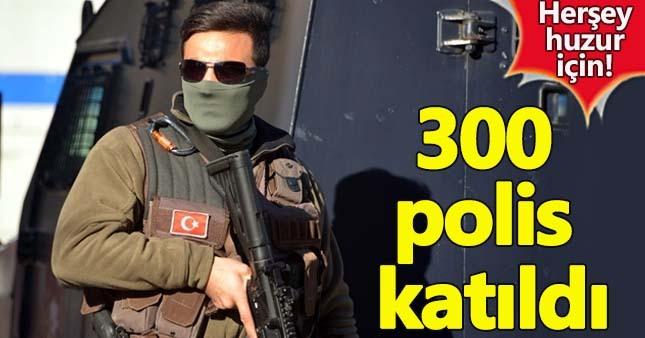 Son dakika Adana haberleri:Adana'da 300 polisle 'Narkotik' operasyonu