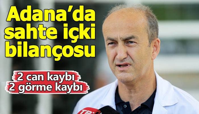 Adana'da ağır sahte içki bilançosu