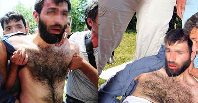Adana'da canlı bombaya linç girişimi