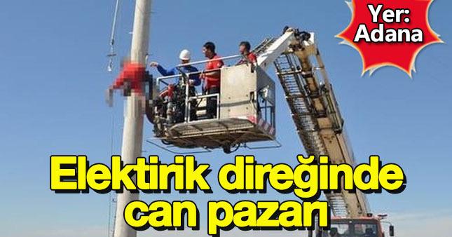 Adana'da feci olay