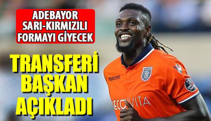 Adebayor'un Kayserispor'da