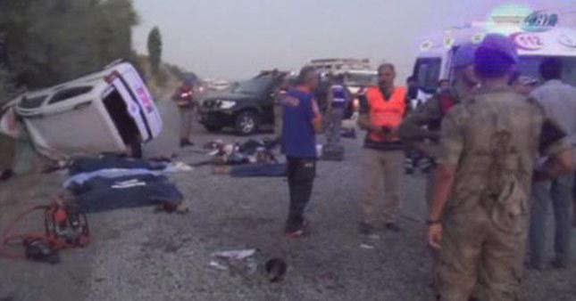 Adıyaman'da trafik katlimaı: 7 ölü