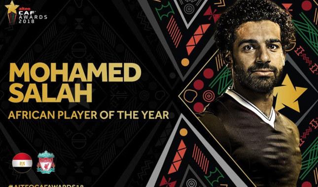Afrika'da Yılın Futbolcusu Muhammed Salah oldu