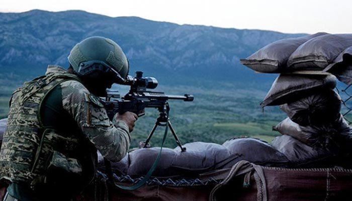 Afrin'de PKK'lı teröristlere ağır darbe!