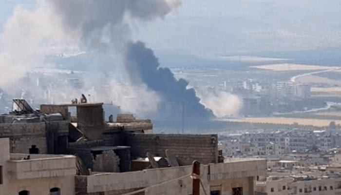 Afrin'de patlama: 11 ölü, 35 yaralı